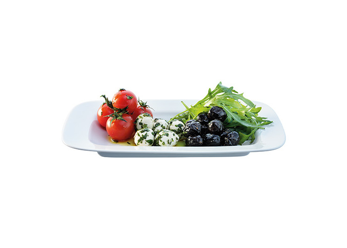 LSA Dine Rectangular Dish 26cm Set Of 2 - 1