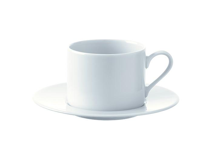 LSA Dine Tea/Coffee Cup & Saucer Straight 0.25L Set Of 4 - 1