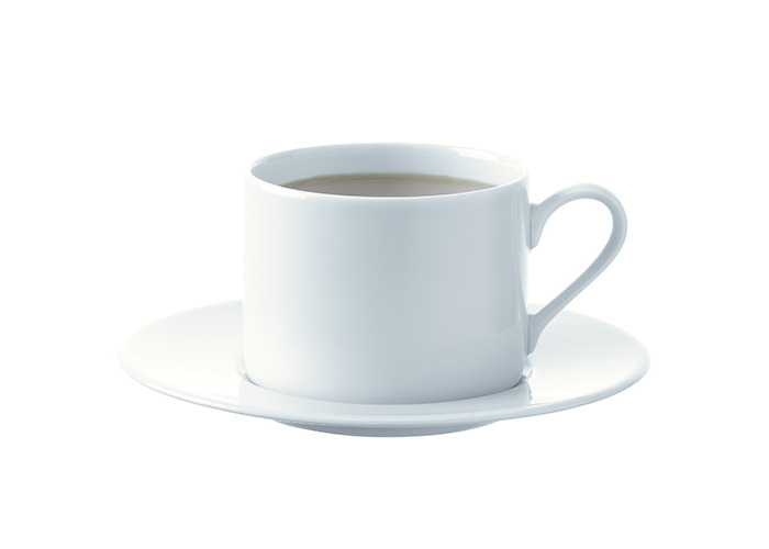 LSA Dine Tea/Coffee Cup & Saucer Straight 0.25L Set Of 4 - 2