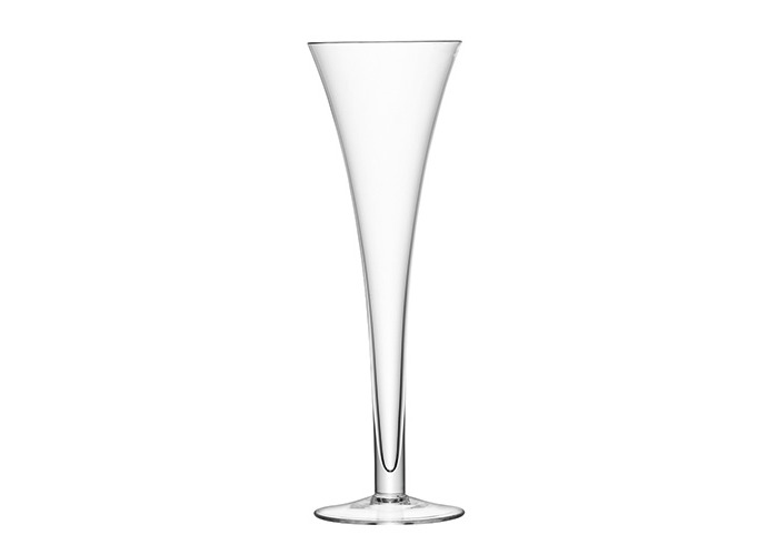 LSA Hollow Stem Champagne Flutes 7oz / 200ml - Pack of 2 | 20cl Champagne Glasses, Hollow Stemmed Champagne Glasses, Handmade Glassware from LSA - 2