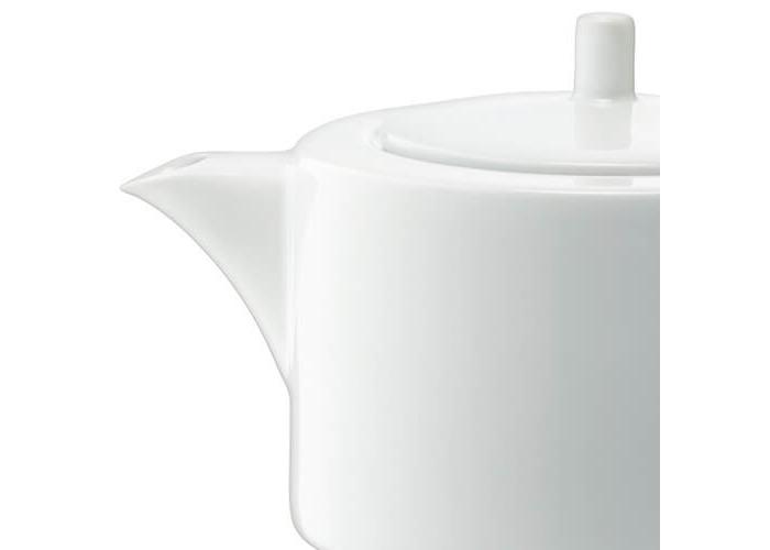 LSA International 1.2 Litre Dine Teapot Straight, White, 15 x 23 x 13 cm - 2
