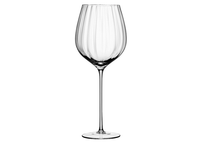 LSA International 660 ml Aurelia Red Wine Glass, Clear (Pack of 4) - 2