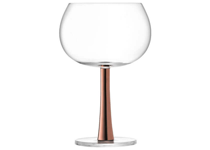 LSA International Gin Balloon Glasses 420 ml, Copper, Set of 2 - 2