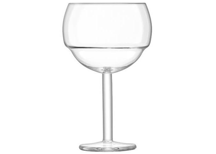 LSA International Mixologist Cocktail Balloon Glass 520ml Clear x 2, 11 x 11 x 18 cm - 2