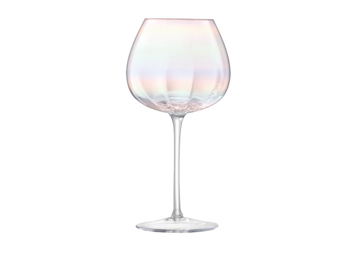LSA International Pearl Red Wine Glass 460ml, Mother Of Pearl, Set of 4 - 2
