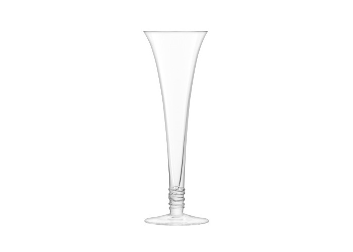 LSA International Prosecco Flute 140ml Clear, Set of 4 - 2