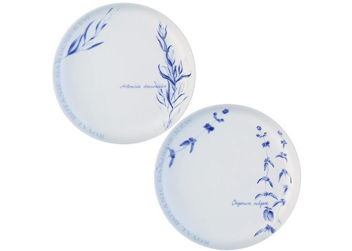 LSA International RBG Kew Tea Plate, Clear, 19 cm Diameter, Set of 4 - 2