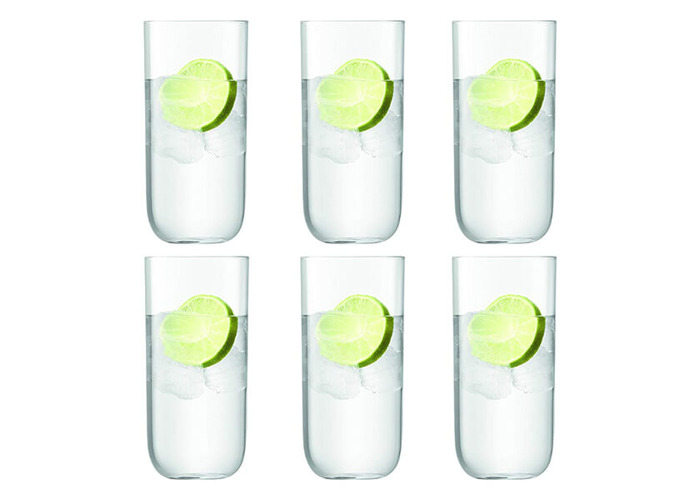 LSA International Uno Highball 490ml Clear x6 - 2