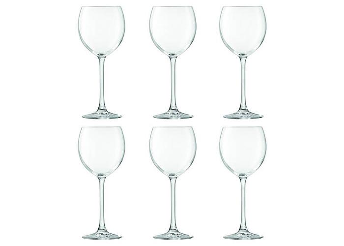 LSA International Uno Wine Glass 400ml Clear x6 - 1