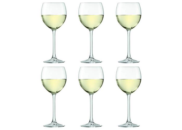 LSA International Uno Wine Glass 400ml Clear x6 - 2