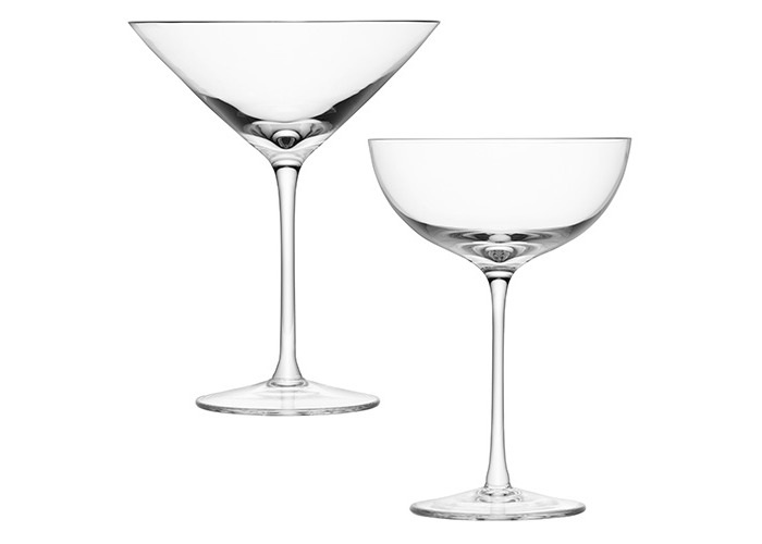 LSA LULU Champagne / Cocktail Glass Set Of Four - 2
