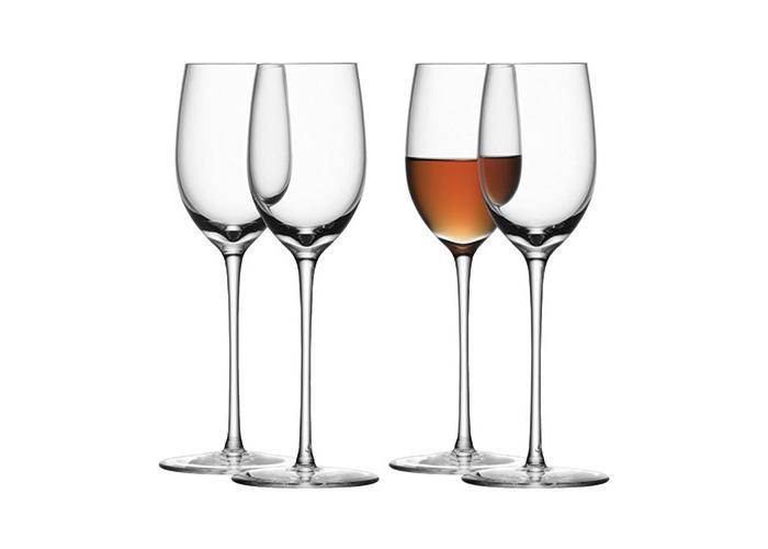 LSA SET 4 BAR SHERRY GLASS 190ml CLEAR - 1