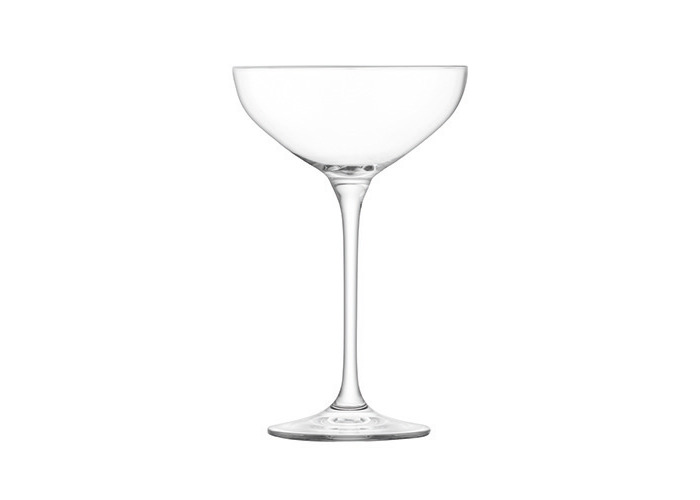 LSA Tower Champagne Saucer Set Clear 10 Piece - 2