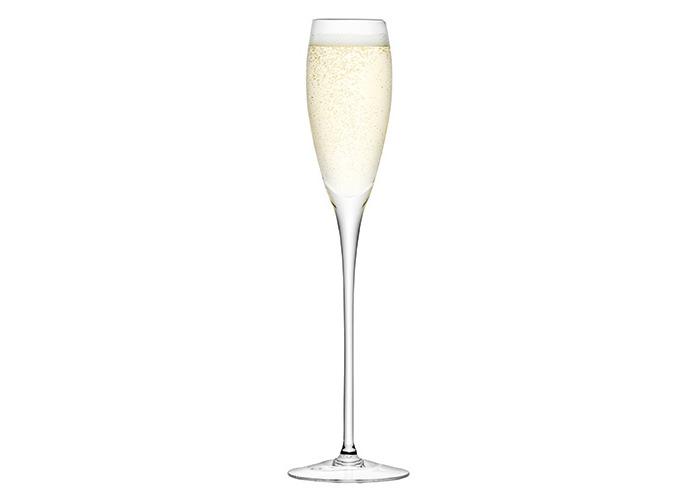 LSA Wine Champagne Flutes Set of 4 Champagne Flutes - 2