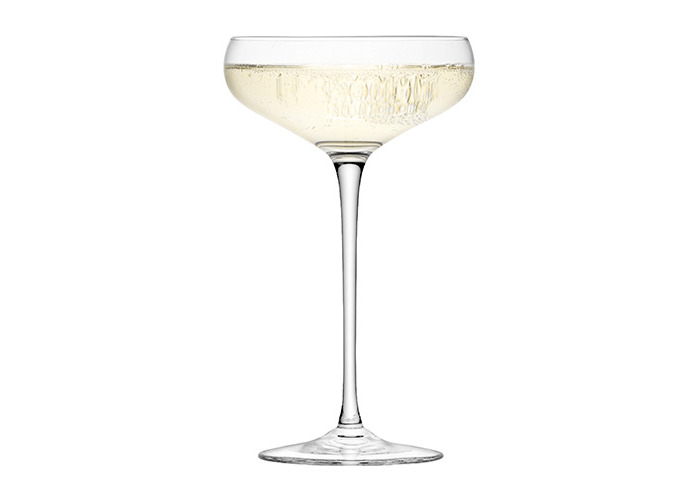 LSA Wine Collection Champagne Saucers 10.5oz / 300ml - Pack of 4 | Champagne Glasses, Champagne Coupe Saucers - Handmade Glasses from LSA - 2
