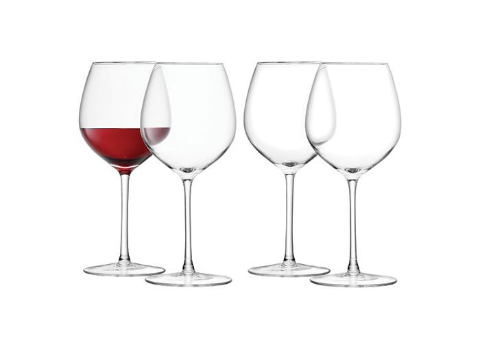 LSA Wine Red Wine Glass 400ml Set Of Four - 1