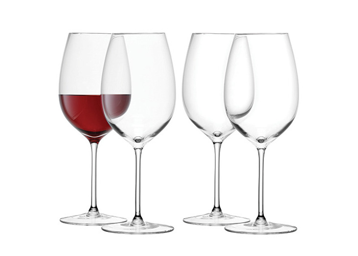 LSA Wine Red Wine Goblet 420ml Set Of Four - 1