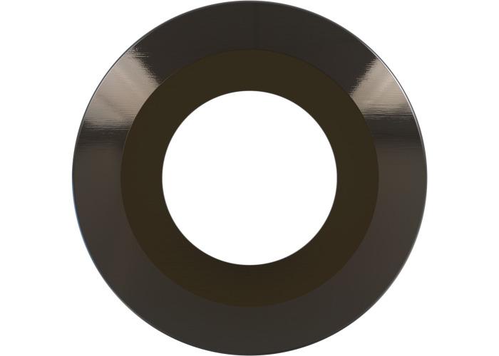 Luceco F-Type Flat Bezel - Black Nickle - 1