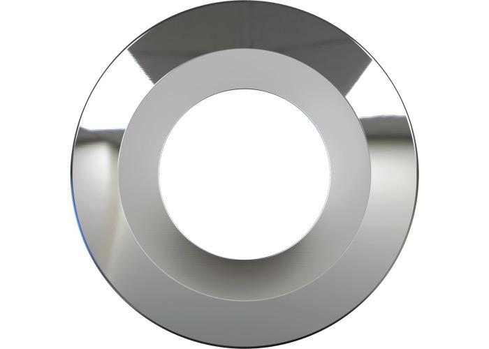 Luceco F-Type Flat Bezel - Polished Chrome - 1