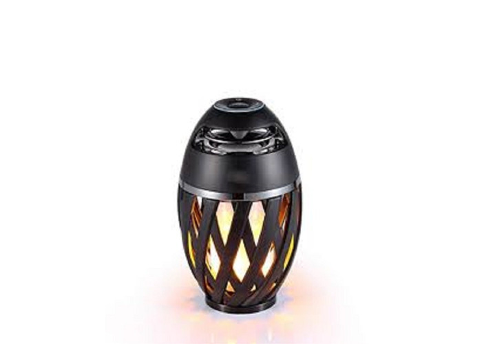 Luceco IP65 Rated Flame Effect LED Torch with Bluetooth - 1