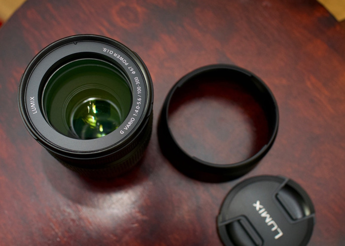 Lumix 100-300mm F4.0 - 5.6 II lens - 2