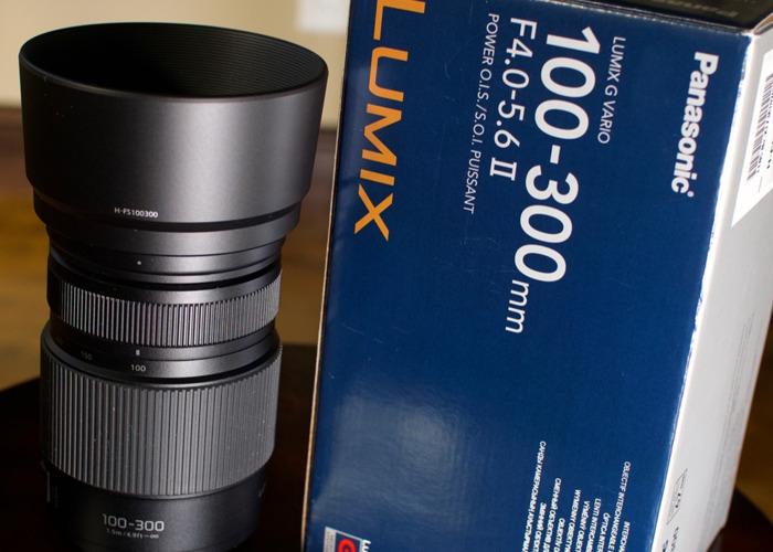 Lumix 100-300mm F4.0 - 5.6 II lens - 1