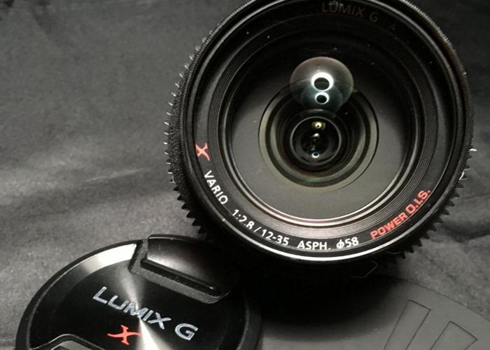 Lumix 12-35mm F2.8 IOS for M4/3 Cameras (BMPCC,GH4,GH5) - 1