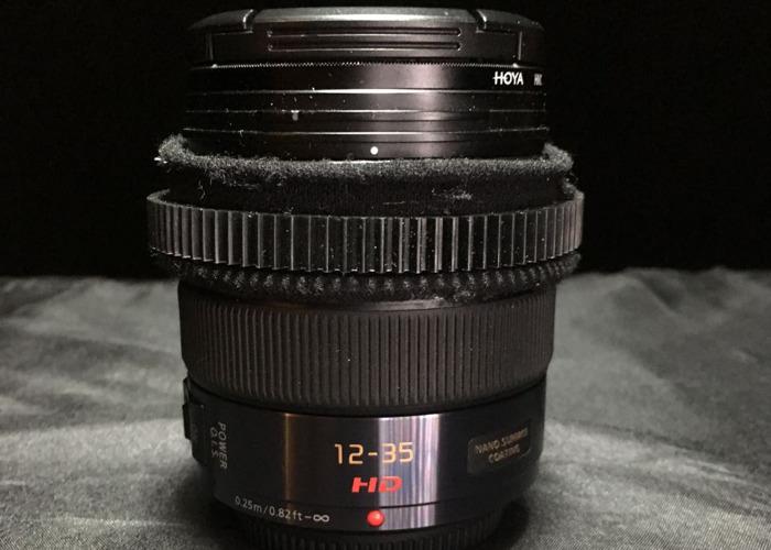 Lumix 12-35mm F2.8 IOS for M4/3 Cameras (BMPCC,GH4,GH5) - 2