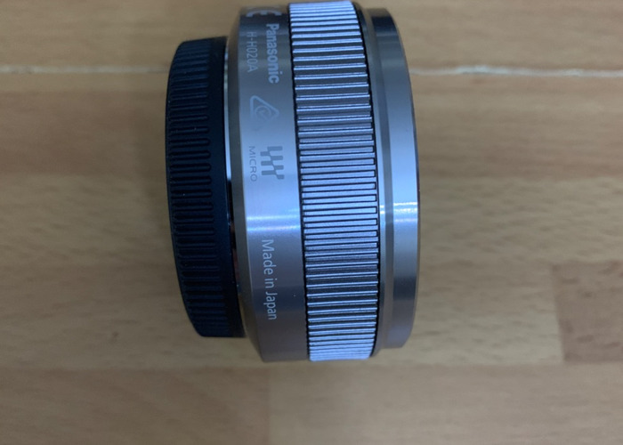 Lumix 20mm f1.7 Lens - 2