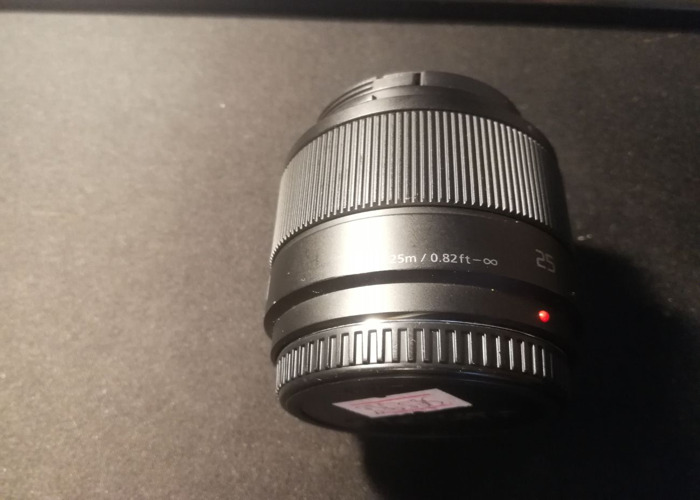 Lumix 25mm F1.7 - 2