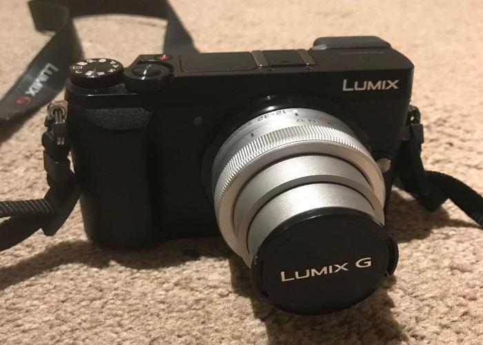 Lumix GX85 mirrorless camera with 12-32mm lens - 1
