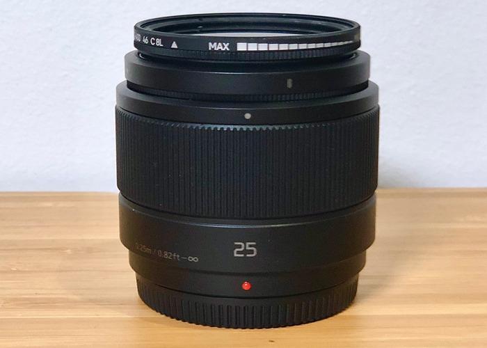 Lumix Prime - 25mm F1.7 - Low light Prime - 2