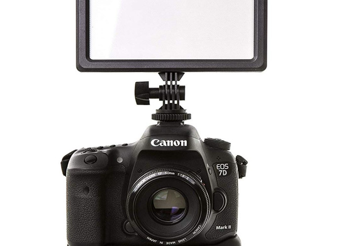 Luxpad 23 LED On Camera Light Pad Dimmable - 2