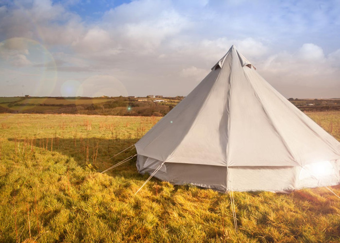 Luxury Bell Tent for hire, Cornwall  - 1