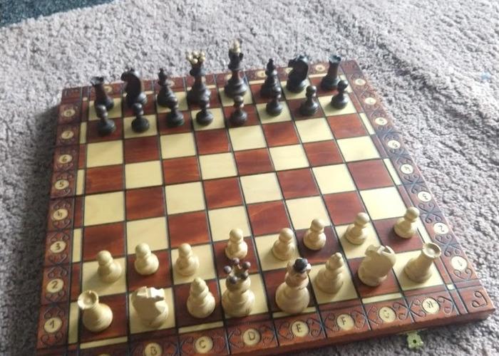 Luxury Wooden Chess Board - 1