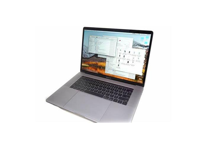 MacBook Pro 2017 - 1