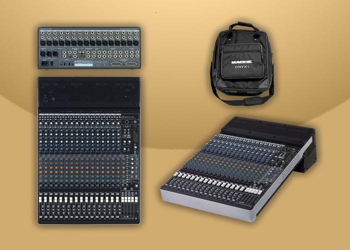 Mackie Onyx 1640i  Firewire Mixer & Audio Interface - 1