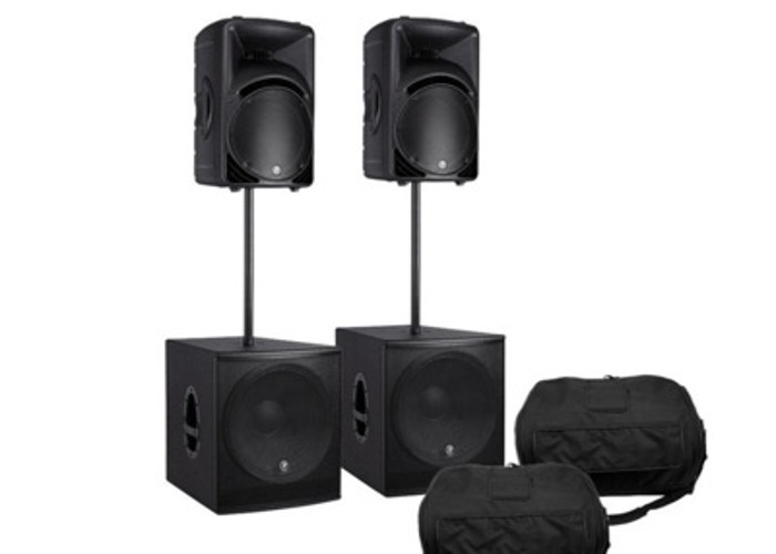 Mackie Speaker and subwoofer package 1 - 1