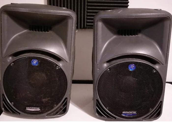 Mackie SRM450 Active Loudspeaker (pair) - 1