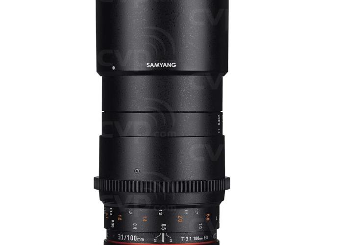 Macro 100mm Samyang Cine Lens (EF) (w/ E to EF Adapter) - 1
