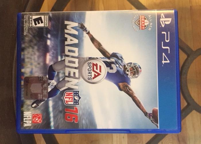 MADDEN NFL 16 - PlayStation 4  - 1