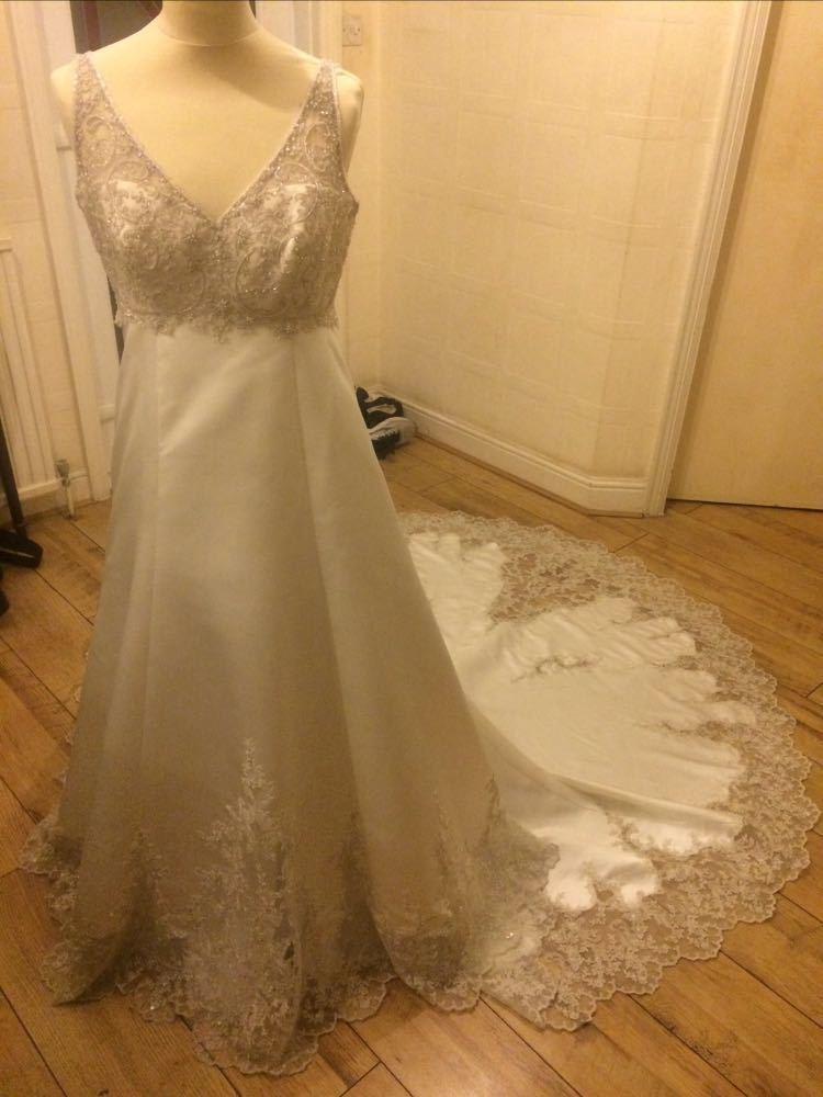 Madeline Gardner Mori Lee Collection Wedding Dress Size 14  - 1