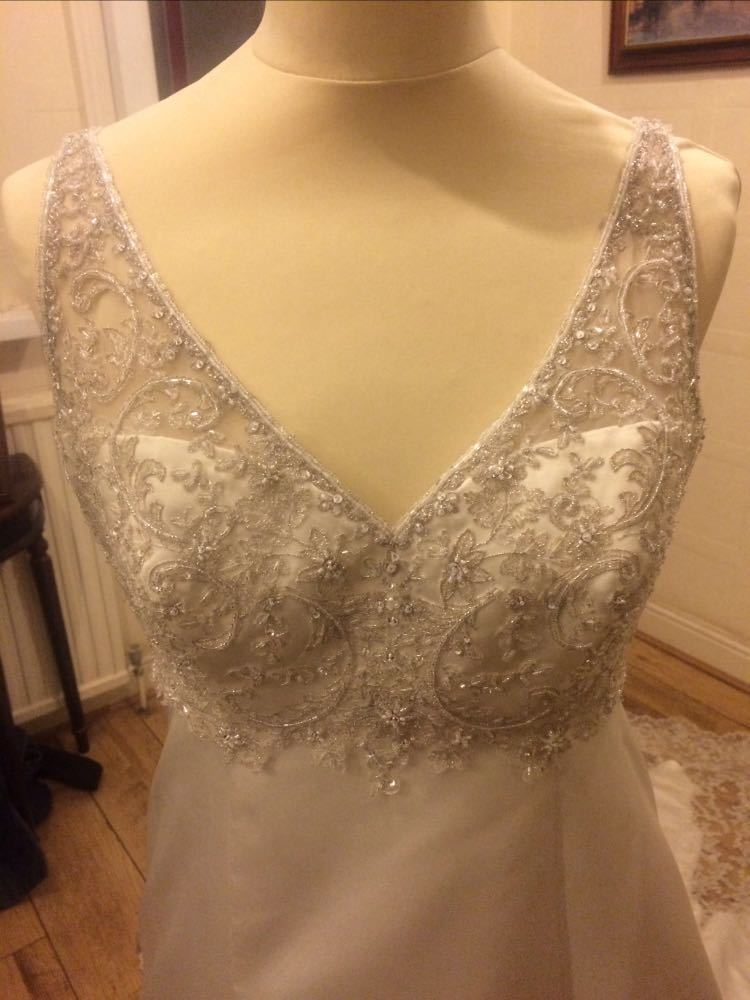 Madeline Gardner Mori Lee Collection Wedding Dress Size 14  - 2