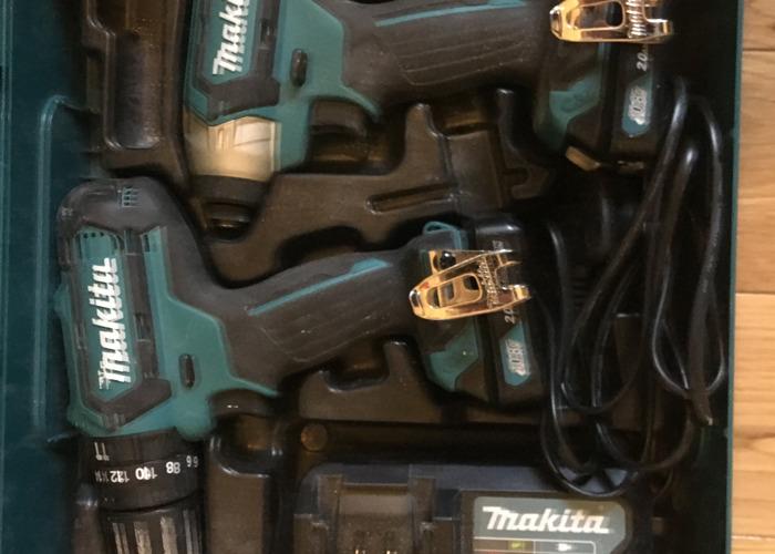 Makita 10v Drill Set - 2