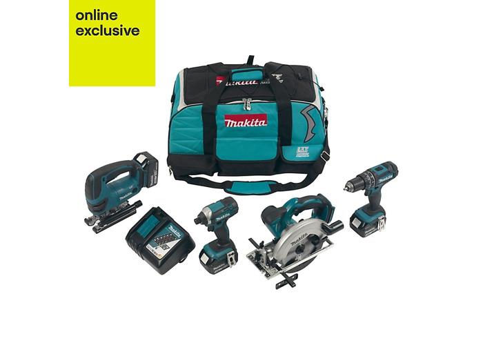 Makita 4 piece Multi-tool kit - 1