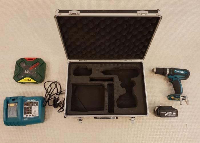 Makita BHP452 Cordless Hammer Driver Drill  - 2