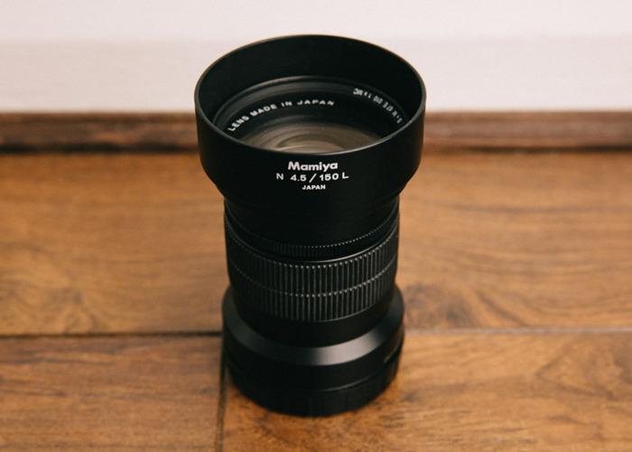 Mamiya 150mm f/4.5 (for Mamiya 7) - 1