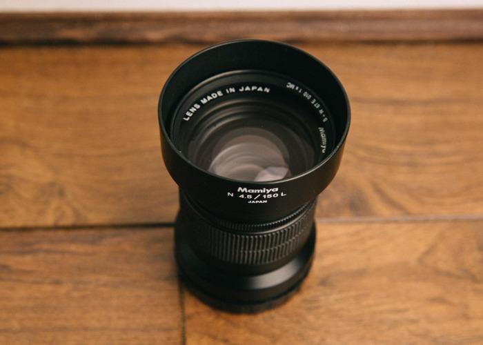 Mamiya 150mm f/4.5 (for Mamiya 7) - 2