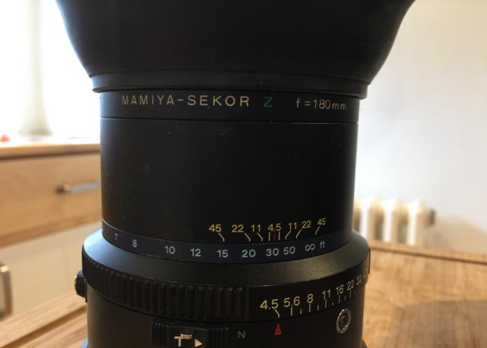 Mamiya RZ 180mm f4.5 Lens - 2