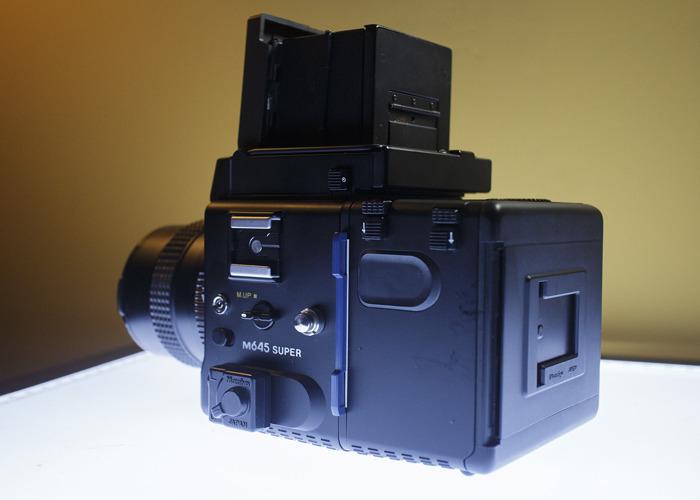 Mamiya 645 Super 120 film camera - 2